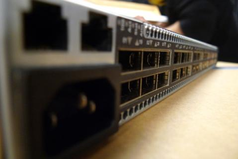 Picture of Infiniband switch